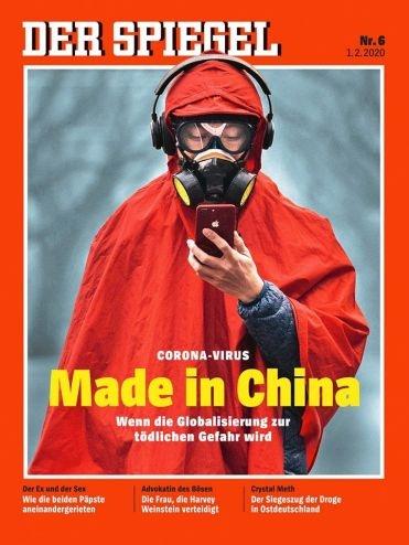 Spiegel 2020년 2월호 표지