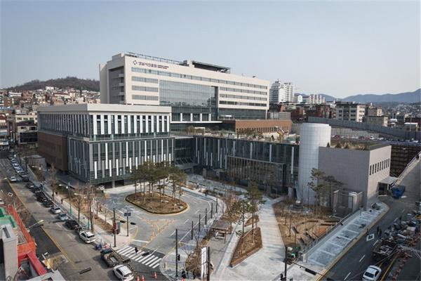 성남시 의료원 전경