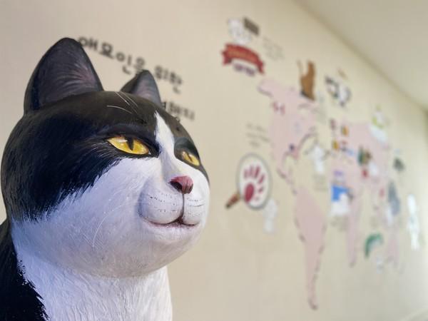 리미술관 '고양이는 다 된다' 전시작품.(사진=리미술관)