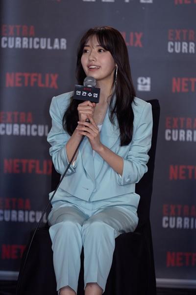넷플릭스 오리지널 시리즈 <인간수업>에서 서민희 역을 맡은 배우 정다빈.