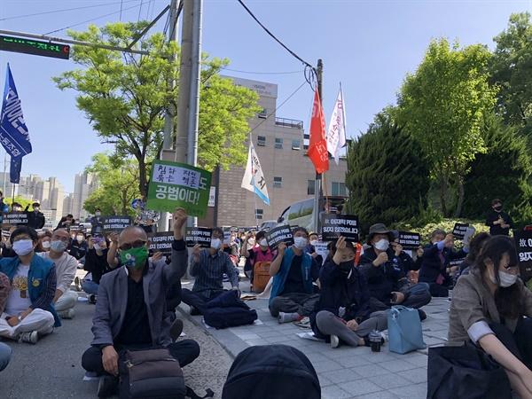 CJB청주방송 故이재학 PD 100일 추모현장.