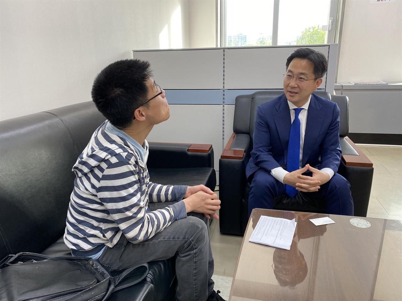 박성준 서울 중구·성동을 더불어민주당 당선인