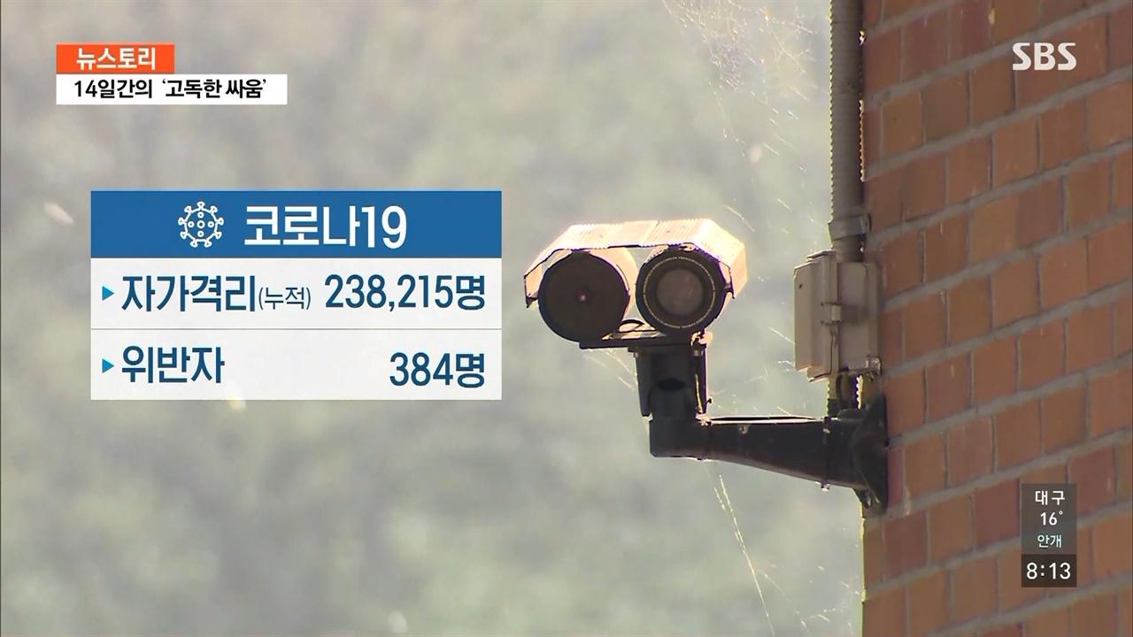 SBS <뉴스토리> '14일간의 고독한 싸움' 편