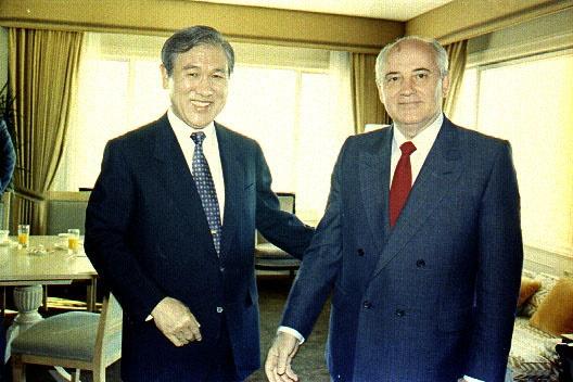 노태우, 고르바초프 한러 정상회담(1990. 6. 5.)