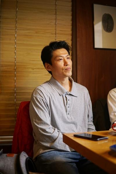 영화 <나는 보리>에서 아빠 역을 맡은 배우 곽진석.