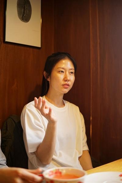 영화 <나는 보리>에서 엄마 역을 맡은 배우 허지나.