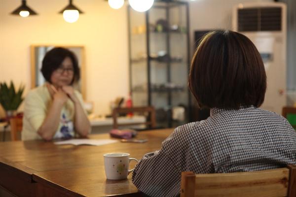 예술인 인터뷰 (사진 : 최영교 시민기자)