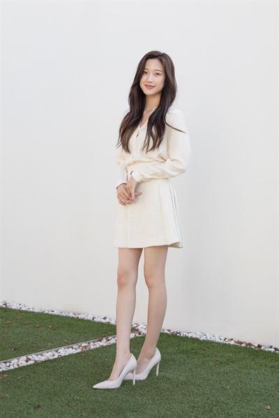 MBC 수목드라마 <그 남자의 기억법>의 배우 문가영.