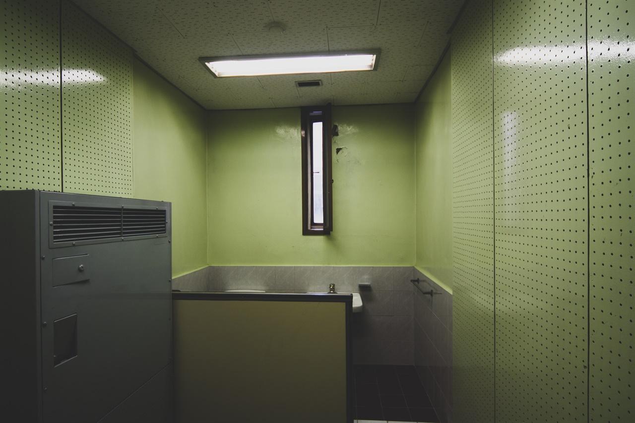 남영동 대공분실의 일반적인 고문실 모습
