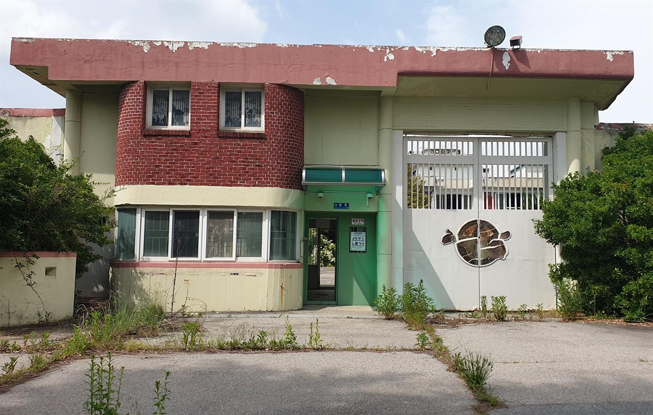 5·18사적지 22호로 지정돼 있는 옛 광주교도소. 당시 이 교도소에 수감돼 있던 고 김남주 시인이 광주의 상황을 전해 듣고 못으로 우유곽에 긁어 '학살2'라는 시를 쓴 곳이기도 하다.