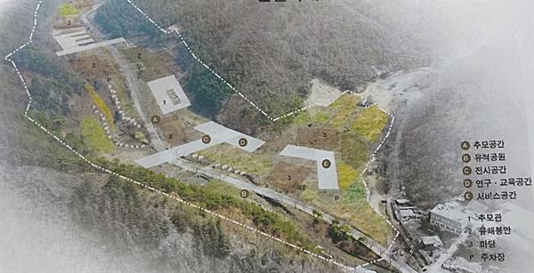 대전 산내 골령골에 추진 중인 한국전쟁 전후 민간인희생자 전국 추모공원 조성 기본계획