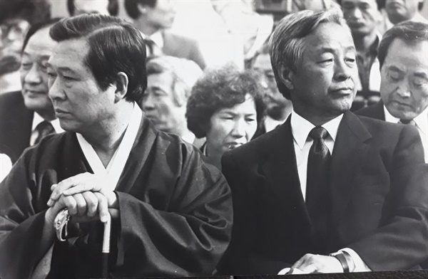 동상이몽의 야권 두 지도자 김대중, 김영삼