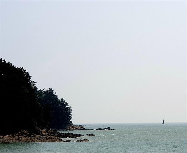 23일 오전 11시경 의문의 보트가 발견된 충남 태안군 소원면 의항리 해변