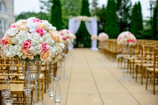 결혼식장.