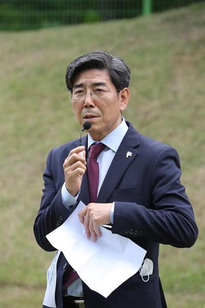 민성진 운암김성숙선생기념사업회 회장