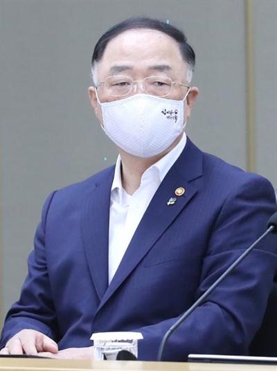 홍남기 경제부총리 겸 기획재정부 장관
