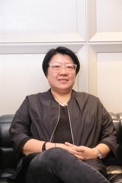 영화 <프랑스여자>의 김희정 감독.