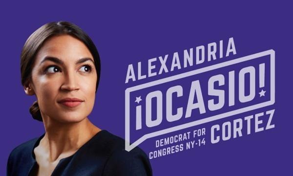 미국 최연소 하원의원이자 부자에 대한 증세로 보편복지를 실현해야 함을 주장한 미국 하원의원 알렉산드리아 오카시오-코르테즈(Alexandria  Ocasio-Cortez)