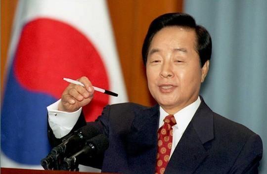 대통령 재임시절의 김영삼