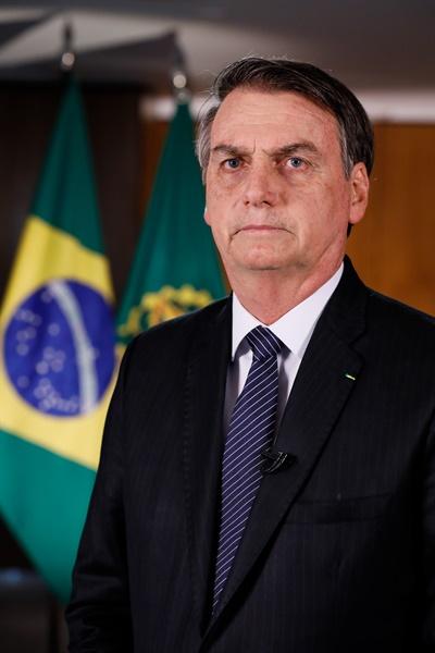 브라질 자이르 메시아스 보우소나루 대통령(38대)
