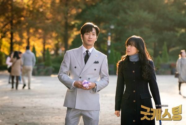 16일 종영한 SBS 드라마 <굿캐스팅>의 한 장면