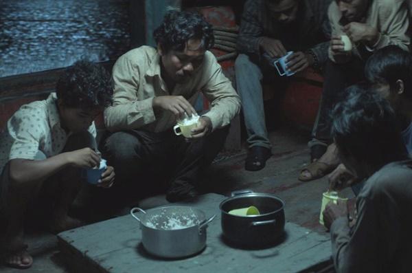 영화 <부력>의 한 장면.