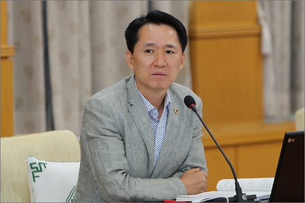 제8대 대전시의회 의장으로 내정된 더불어민주당 권중순(중구3) 의원.
