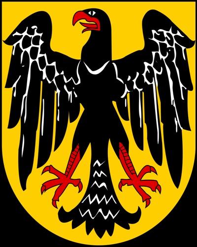 1919년부터 1928년까지 사용된 바이마르공화국의 문장.