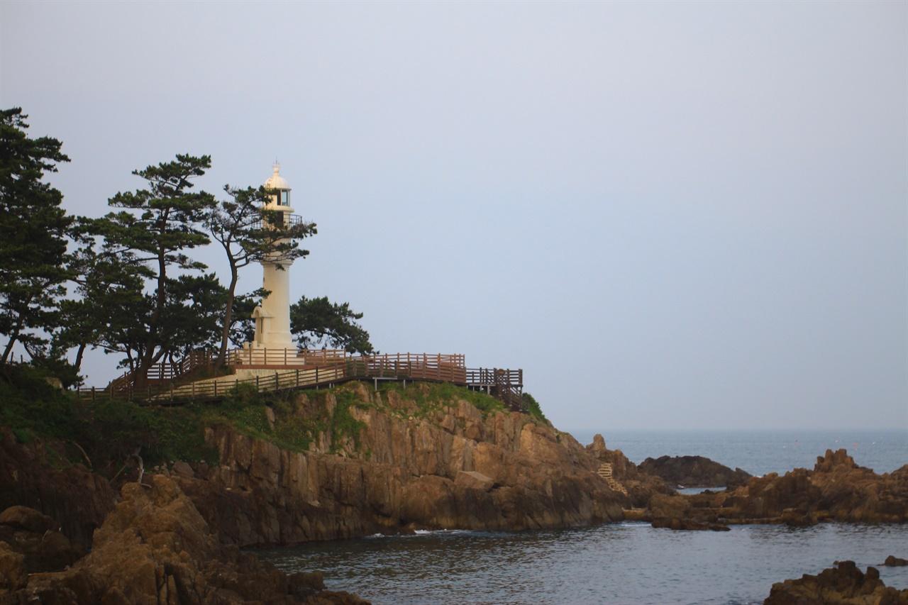 경주 감포 송대말 등대 전망대 모습