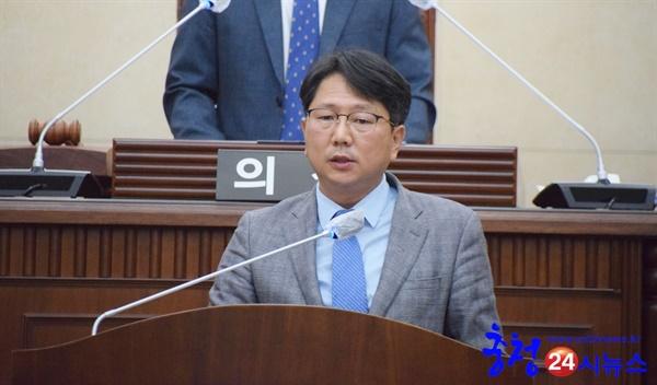 계룡시의회 제5대 하반기 강웅규 부의장 당선 강웅규 부의장 당선 소감