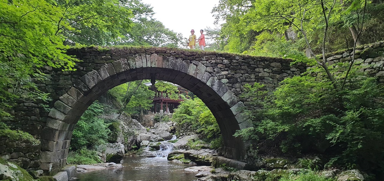 승선교 역사 문화적 가치로 보무롤 지정된 다리다.