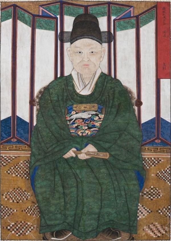19세기 조선 환관의 초상화 '내시진영도內侍眞影圖'