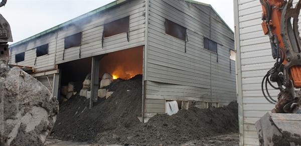 김해시 한림면 소재 창고에서 7월 1일 화재가 발생해 3일 오후 진화되었다.