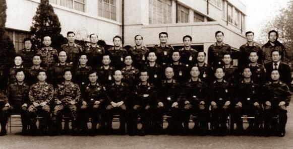 12. 12. 군사 쿠데타 성공직후 기념사진(1979. 12, 13,)