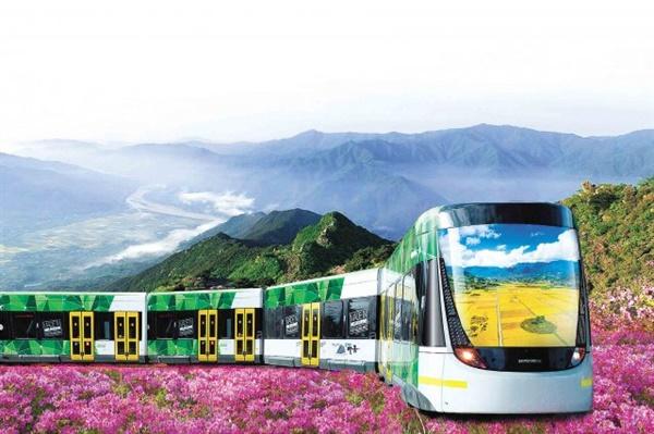 경남 하동군은 지리산 산악열차 건설을 추진하고 있다.