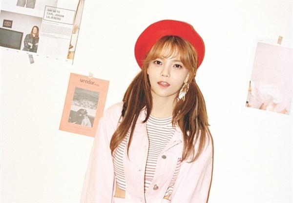 멤버 괴롭힘 논란으로 팀 탈퇴를 발표한 AOA 리더 지민