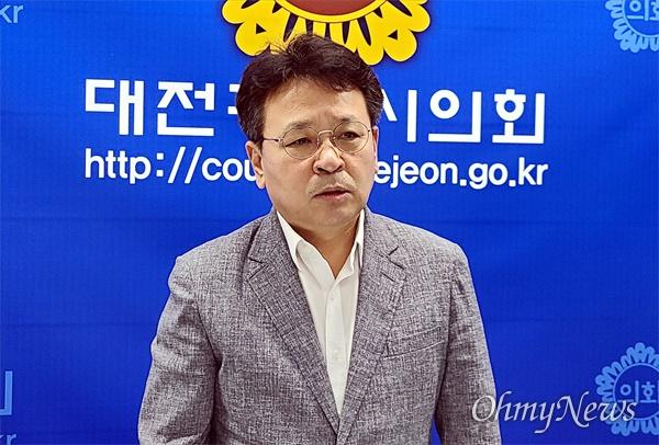 대전시의회 오광영(더불어민주당. 유성2)의원.