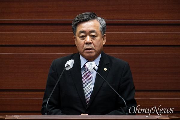 경북도의회 제11대 후반기 부의장으로 선출된 김희수 의원,