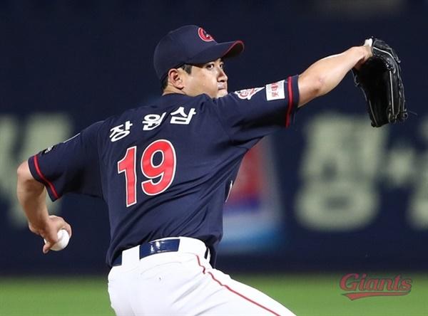 7일 한화전에서 퀄리티스타트를 달성한 롯데 장원삼