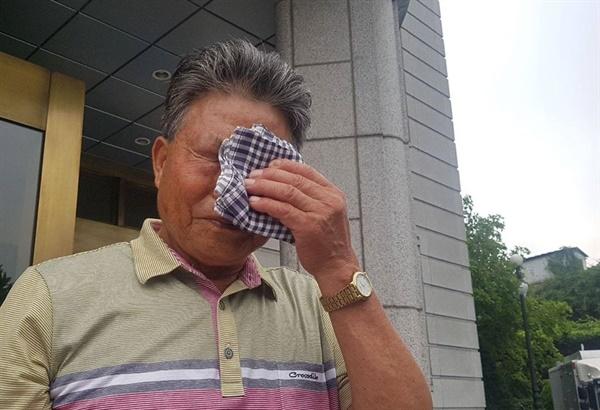 정영씨는 조작 간첩으로 억울하게 15년 간 옥살이를 했다.