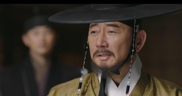 TV조선 드라마 <바람과 구름과 비> 한장면.