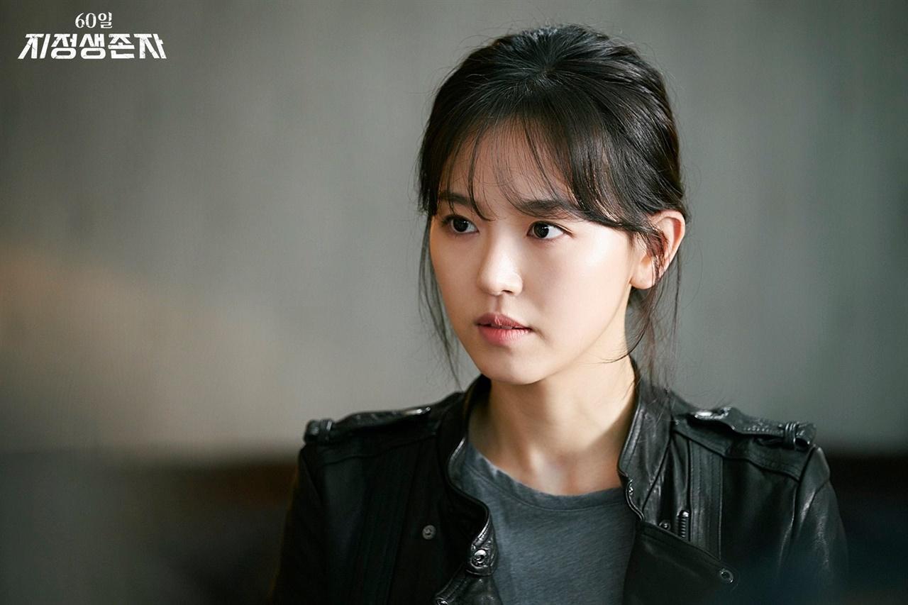 드라마 <60일, 지정생존자>에서 국정원요원 한나경 역할 맡았던 배우 강한나