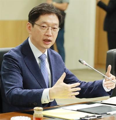 김경수 지사는 15일 오후 한국토지주택공사 본사 이사회실에서 11개 혁신도시 이전공공기관장과 간담회를 가졌다.