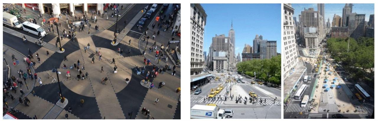 보행자 중심으로 바뀌는 유럽의 도시들 유럽의 도시들은 자동차 중심에서 보행자 중심 도시로 가고 있다. (자료출처 : 송상석 사무처장 강의자료 갈무리)