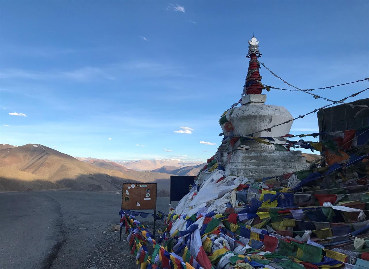 세계에서 두 번째로 높은 도로, 타그랑 라