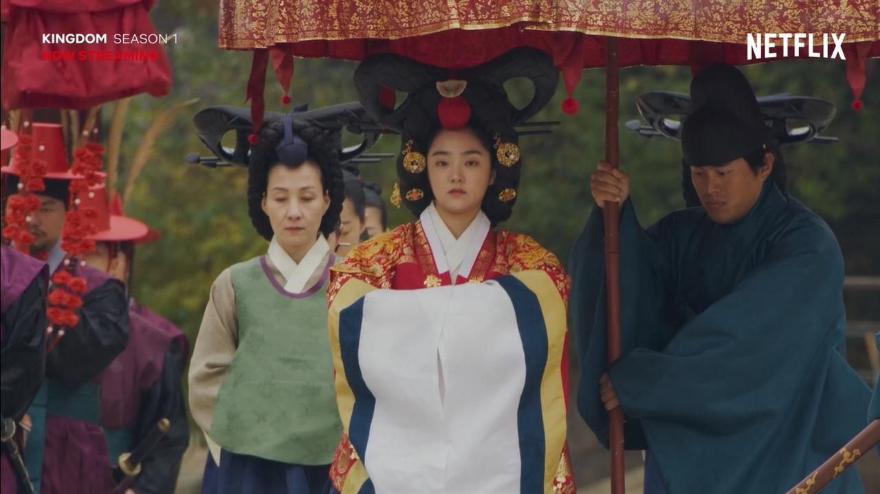 스트리밍 서비스인 '넷플리스'의 오리지널 콘텐츠에 담긴 Explore Korea 영상 중 <킹덤> 캡처 화면