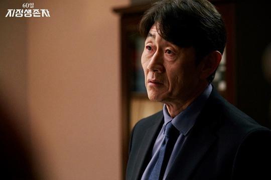< 60일, 지정생존자 >에서 한주승 비서실장을 연기한 배우 허준호