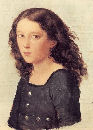 12세의 펠릭스 멘델스존 (요제프 베가스 그림)