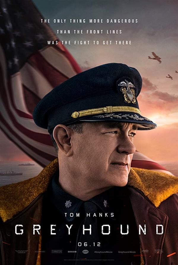 영화 <그레이하운드> 포스터.