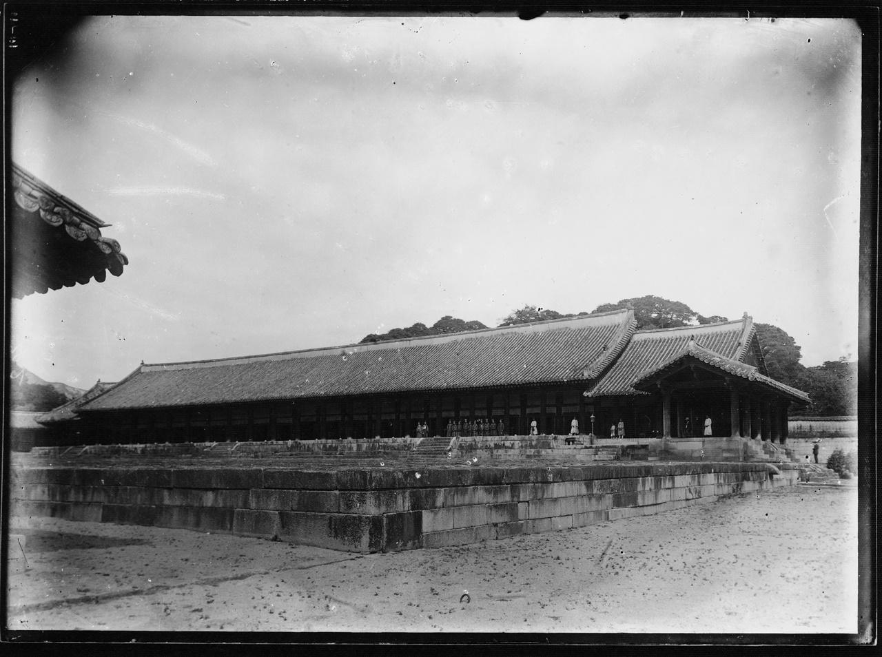 1909년에 촬영한 종묘